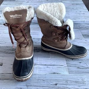 Wind River Whistler HD2 Water Resistant duck boots